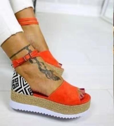 Sandals Women Wedges Shoes Pumps High Heels Sandals Summer 2020 Flip Flop Chaussures Femme Platform Sandals Sandalia Feminina