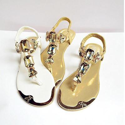Shoes women sandals 2020 hot fashion rhinestone summer shoes women sandals clip toe women shoes sandalia feminina