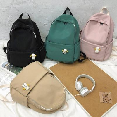 Fashion Waterproof Nylon Backpack Cute Women Kawaii School Bag Student Girl Backpacks Small Female Luxury Bags Book Ladies Brand