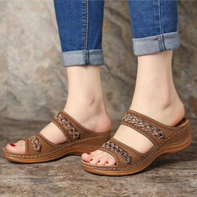 Women Sandals Fashion Wedges Shoes For Women Slippers Summer Shoes With Heels Sandals Flip Flops Women Beach Casual Shoes