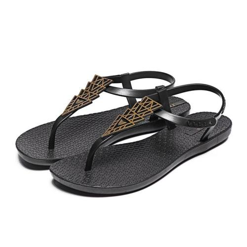 Women Rome Sandals 2020 Summer Flat Shoes Woman Soft Bottom Back Strap Flats Female Fashion Beach Sandals Ladies Casual Footwear