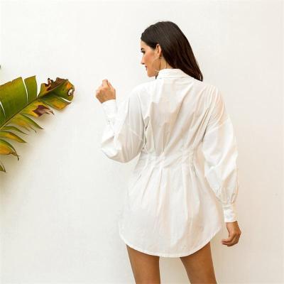 2020 autumn new Fashion Women Blouse Shirt Dress Casual Long Sleeve Lapel Blouse Tops Office Lady Elegant Shirts Female Blusas
