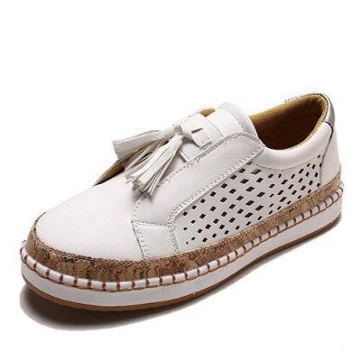 Sneaker Women Casual Shoes Fashion Breathble Lace-up Women Vulcanized Shoes Flat Platform Female Sneaker Zapatillas Mujer VT467