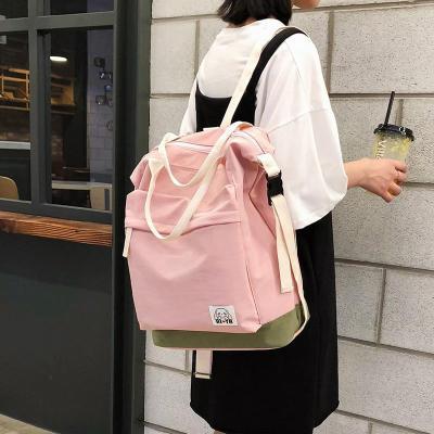 Ladies Nylon Waterproof Backpack Cute Women School Bags For Teenage Girl Harajuku Backpacks Kawaii Female Fashion Bag Luxury New