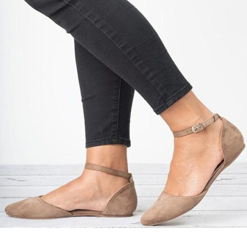 HEFLASHOR Spring  Loafers Solid Square Toe Ballet Flats Casual Slip On Shoes Woman Comfort Women Shallow Flat Leather Shoes