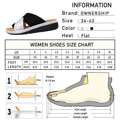 Woman Casual Slippers Female Flip Flops Women's Non-Slip Mixed Colours Shoes Ladies Flats Women Summer Footwear Plus Size 34-43