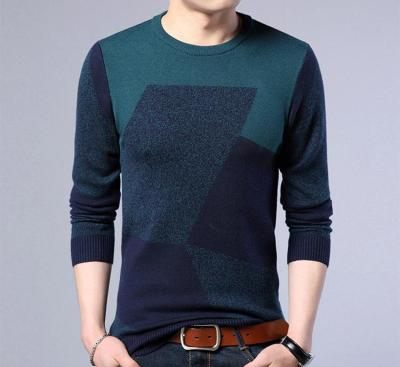 Men Sweater 2020 New Arrival Autumn And Winter Slim Male Knitted Pullover Sweater Teenage Boys Korean Style Fashion Trends M66