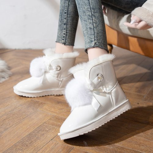 2020 New INS Fashion High Platform Boots High Wedges Ankle Boots Women 2020 Thicken Warm Snow Boots Woman Zapatos De Mujer