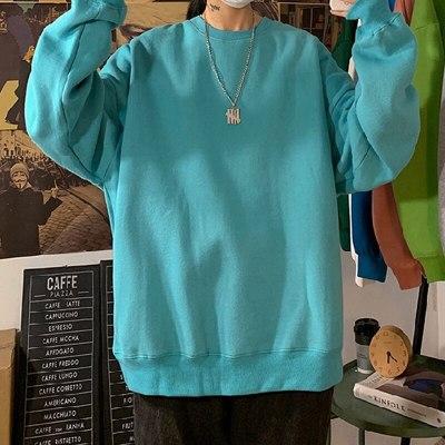 2020 Autumn Woman's Hoodies Oversize Female Loose Cotton Solid Thicken Warm Women Sweatshirts Lady Fashion PlusSize 5XL Dropship