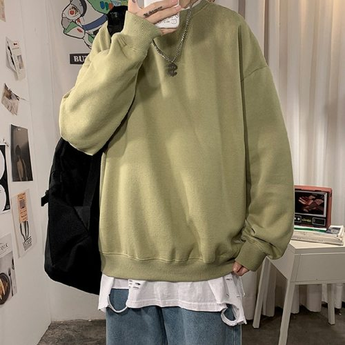 2020 Autumn Woman's Hoodies Oversize Female Loose Cotton Solid Thicken Warm Women Sweatshirts Lady Fashion PlusSize 5XL Dropship
