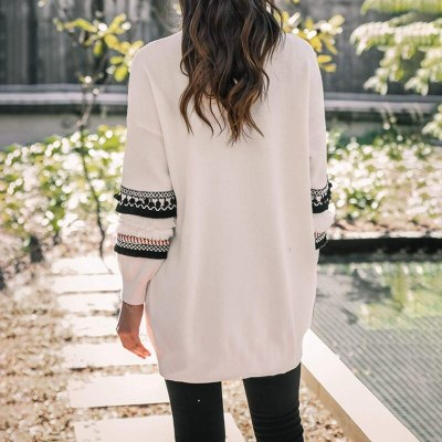 NEW 2020 Women Long Sleeve Knitted Cardigan Sweater Casual Autumn Coats Outwear Fashion Winter Harajuku Veste Femme Dropship