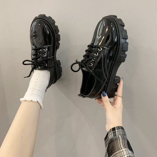 Mary Jane Shoes Japanese School Uniform Jk Student Shoes Girls Women Kawaii Lolita Soft Sister Round Toe Platform low Heel shoes
