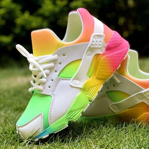 2021 Casual Flat Shoes Woman Brand Design mixed-color Platform Sneakers Women Ins Hot Luxury Colorful Sneakers