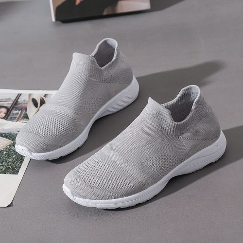 Women Sneakers Vulcanized  Casual Flats Female Solid Hollow Out Breathable Shoes Ladies 2021 New Footwear Lady Shoes Women