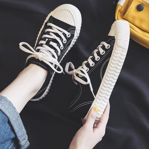 Women's shoes Canvas shoes Wear Resistant Casual woman for Sneakers Women's summer footwear Denim Comfortable Walking shoe