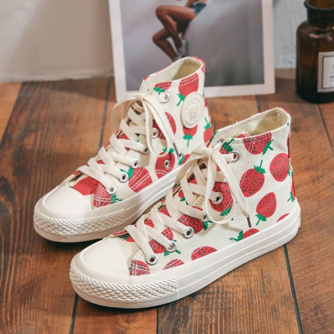 2021 Women's Fashion Sneakers Non-Slip Canvas Shoes Breather Sport Sneakers Woman Comfy Walking Shoes Casual Vulcanized Shoes