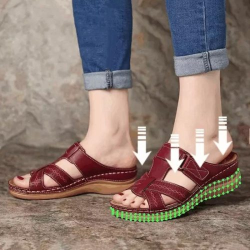 Women Slippers Wedges Platform Summer Female Shoes Solid Casual Sandals Plus Size Ladies Slides 2021 Outdoor Beach Slippers