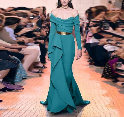 Sexy Fashion Tube Top Solid Color Irregular Dress