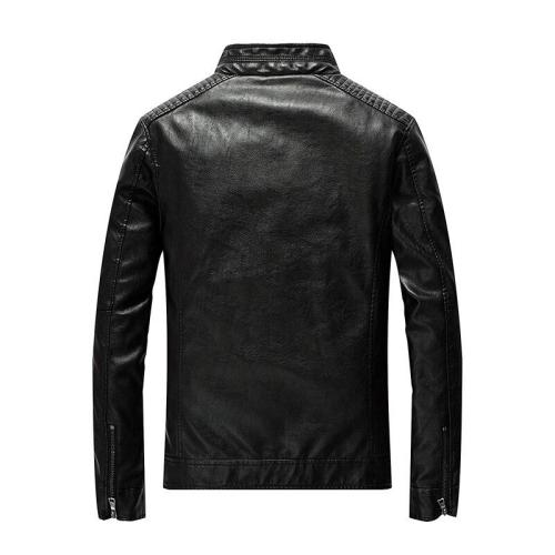 2020 men's Hip Hop Bomber Jackets Clothing Male Leather windbreaker Fashion Casual Pilot Overcoat Homme Solid Cool Jacket coats