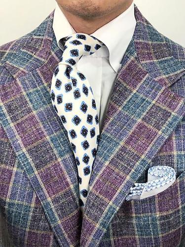 Mens fashion casual floral tie LH011