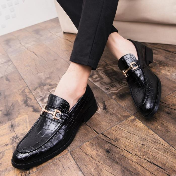 Luxury Pointed Toe Floral Print Flats Formal Shoes