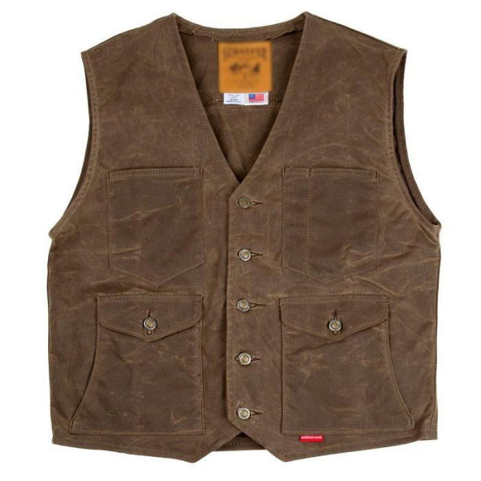 VintageV Neck Pure Color Sleeveless Vest