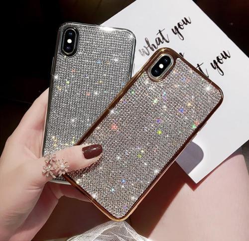 Rhinestone Glitter Case for iPhone Samsung Huawei