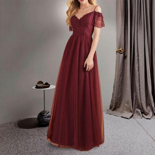 Sexy V-neck Sling Evening Dress