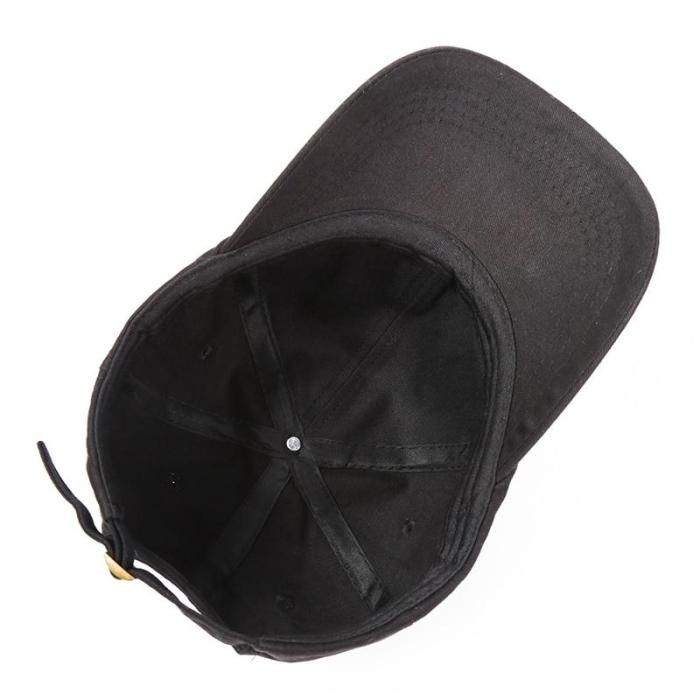 Snapback Cap Cotton Embroidery Baseball Cap For Men Women Adjustable Hip Hop Dad Hat