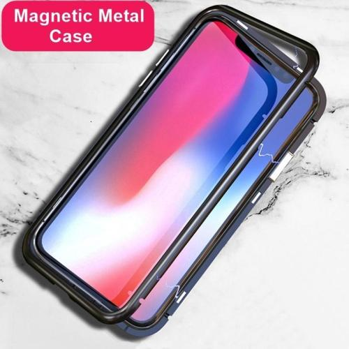 Ultra Magnetic Front & Back Adsorption Full Case For iPhone Support Wireless Charge