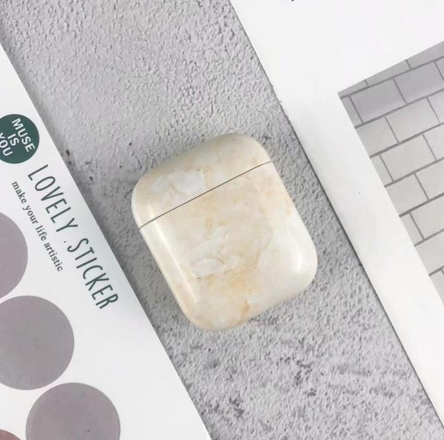 Marble Apple Airpods Case