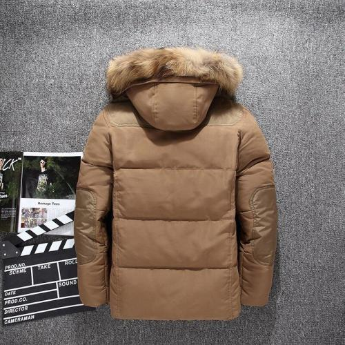 Free Shipping Top Design Men Winter Down Coats White Duck Down Padded jacket For Man Casual Men's Brand Hooded Jackets