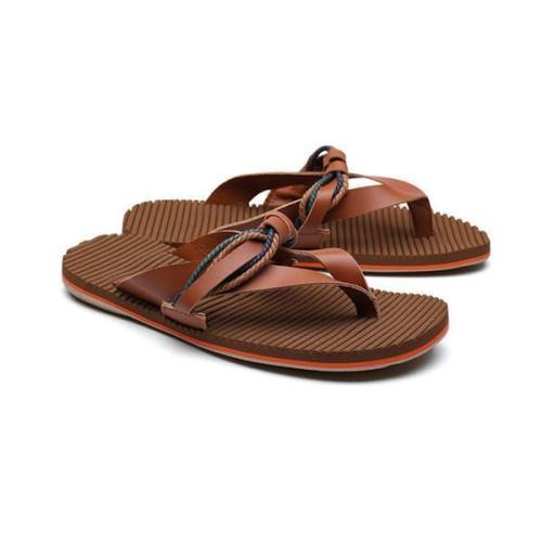 Men Stylish Super Soft Flip Flops Slippers Beach Shoes