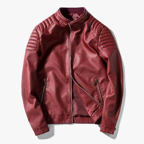 Men's Pu Leather Jacket 3 Colors
