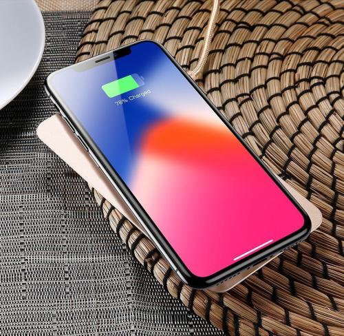 10W Fast Wireless Safe Desktop Charging Stand For Mobile Phone