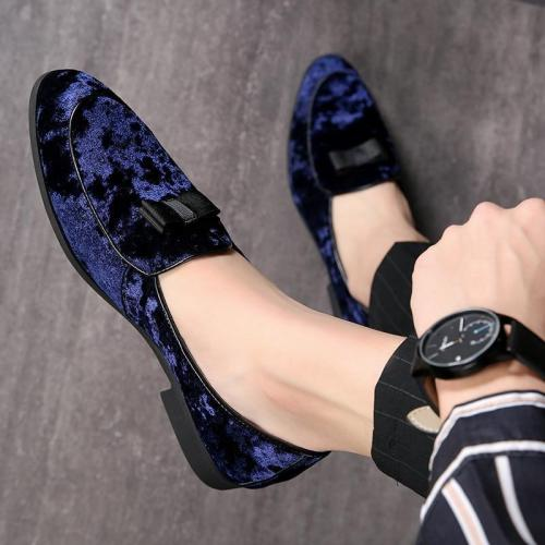 Luxury Designer Suede Leather Loafers