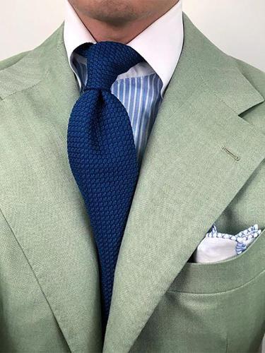 Men's business fashion solid color tie