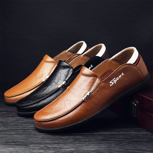 Men's casual driving shoes