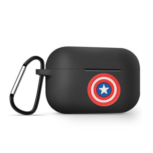 Captain America Silicone AirPods Pro Case Shock Proof Cover