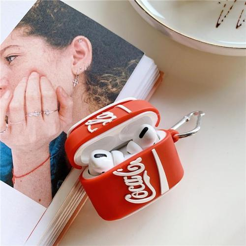 Coca Cola Bottle AirPods Pro Case Shock Proof Cover