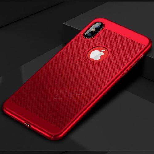 Heat Dissipation Hard PC Matte Full Cover Case For iPhone X 8 7 6 plus