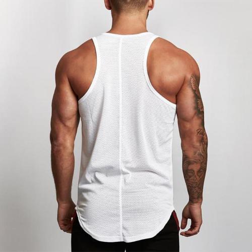 Mesh Vest Slim Sports Sleeveless   Training Shirt