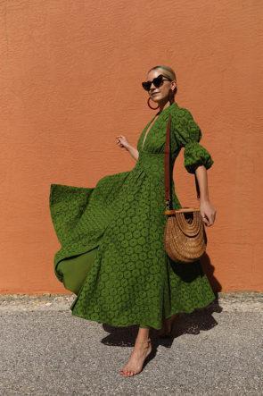 Puff Sleeve V-neck Print Dresses Plus Size Vintage Sexy Print Long Dresses 2020 Maxi Dresses