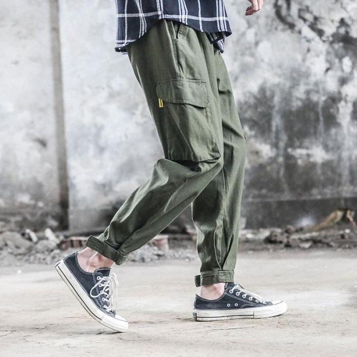Street Fashion Cool Loose Tooling Pants
