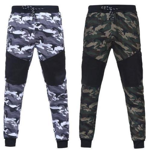 Camo Patchwork Pants