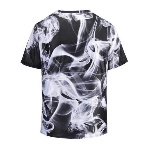 Art Smoke 3D Print T-Shirt
