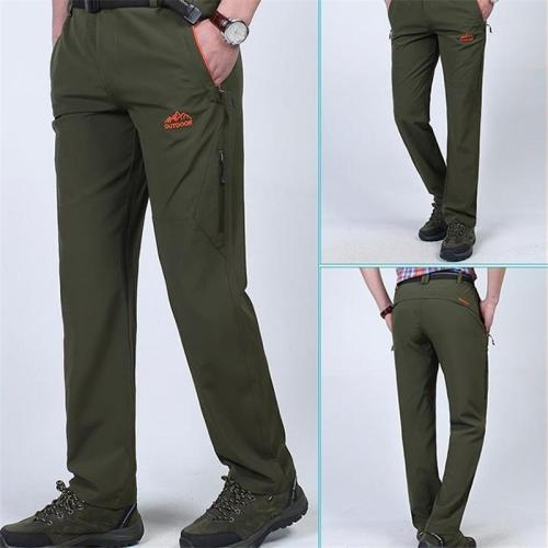 Fashion Youth Casual Business Plain Long Pants