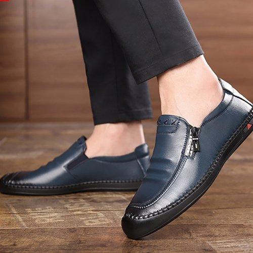 Men breathable non-slip business casual shoes