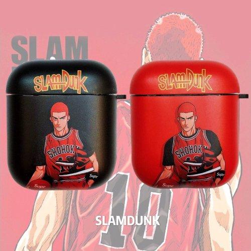 Slam Dunk 'Sakuragi Hanamichi' AirPods Case Shock Proof Cover