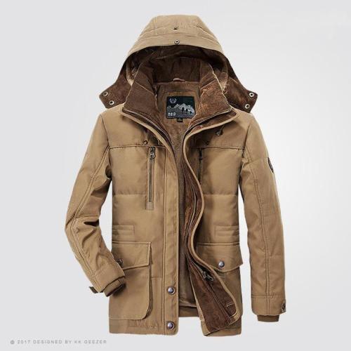 Thicken Windbreaker High Quality Fleece Cotton-Padded Overcoat